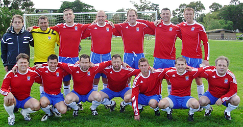 Fitzroy City Soccer Club - Masters Team