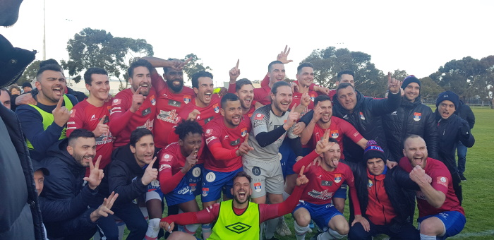 Fitzroy City Soccer Club - Mens Team